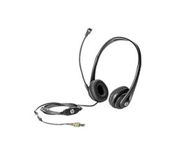HP Headsets hewlett packard t4e61at