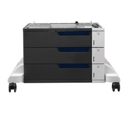 HP Business Printer Feeder Trays hp color laserjet 3x500 sheet paper feeder and stand
