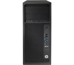 HP Z240 Tower Workstation hewlett packard t4n77ut aba